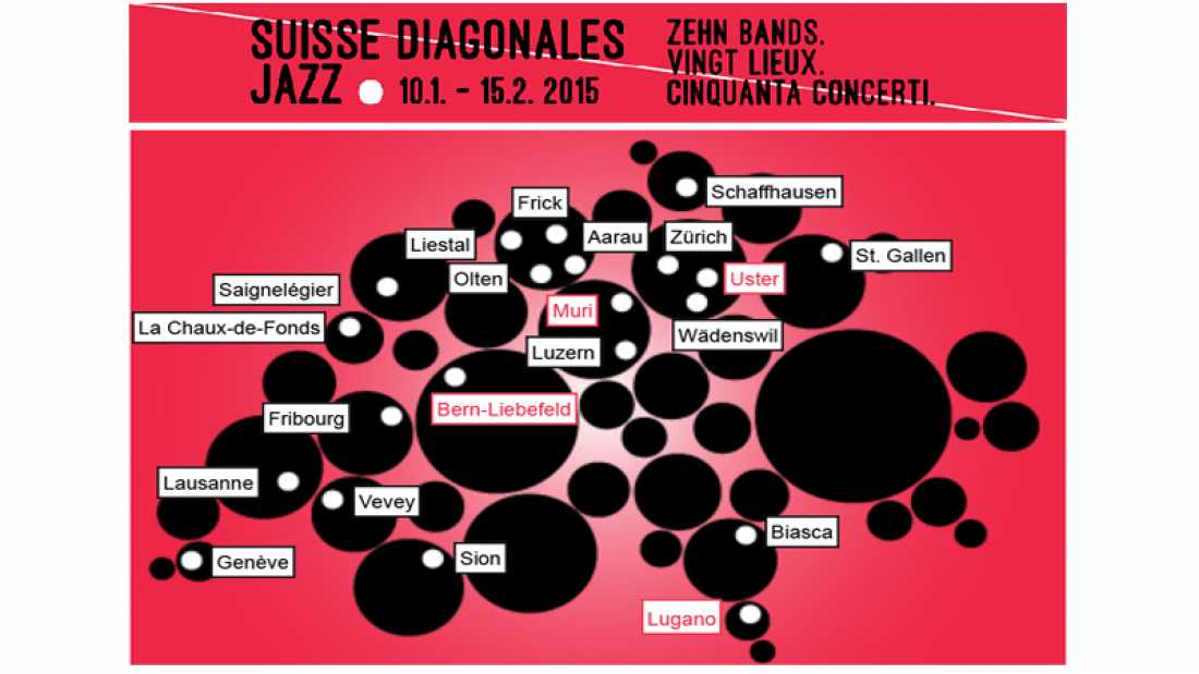 Suisse diagonales jazz