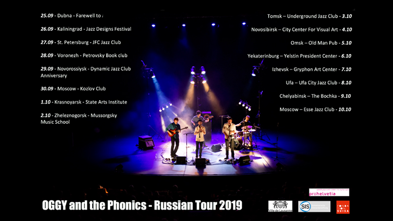 OGGY & the Phonics - Russian tour 2019